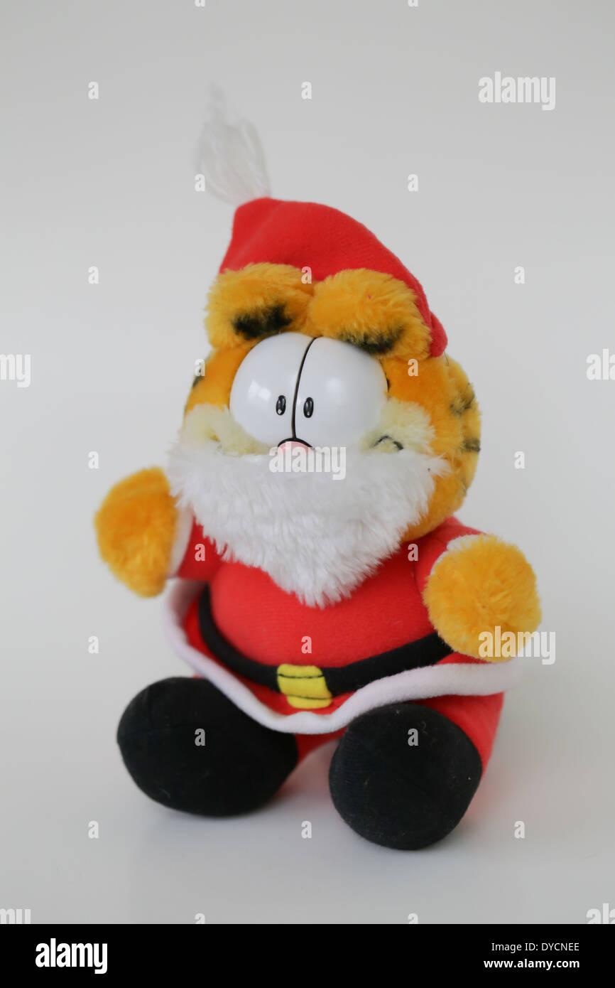 Stofftier Garfield Cartoon Charakter Stockbild