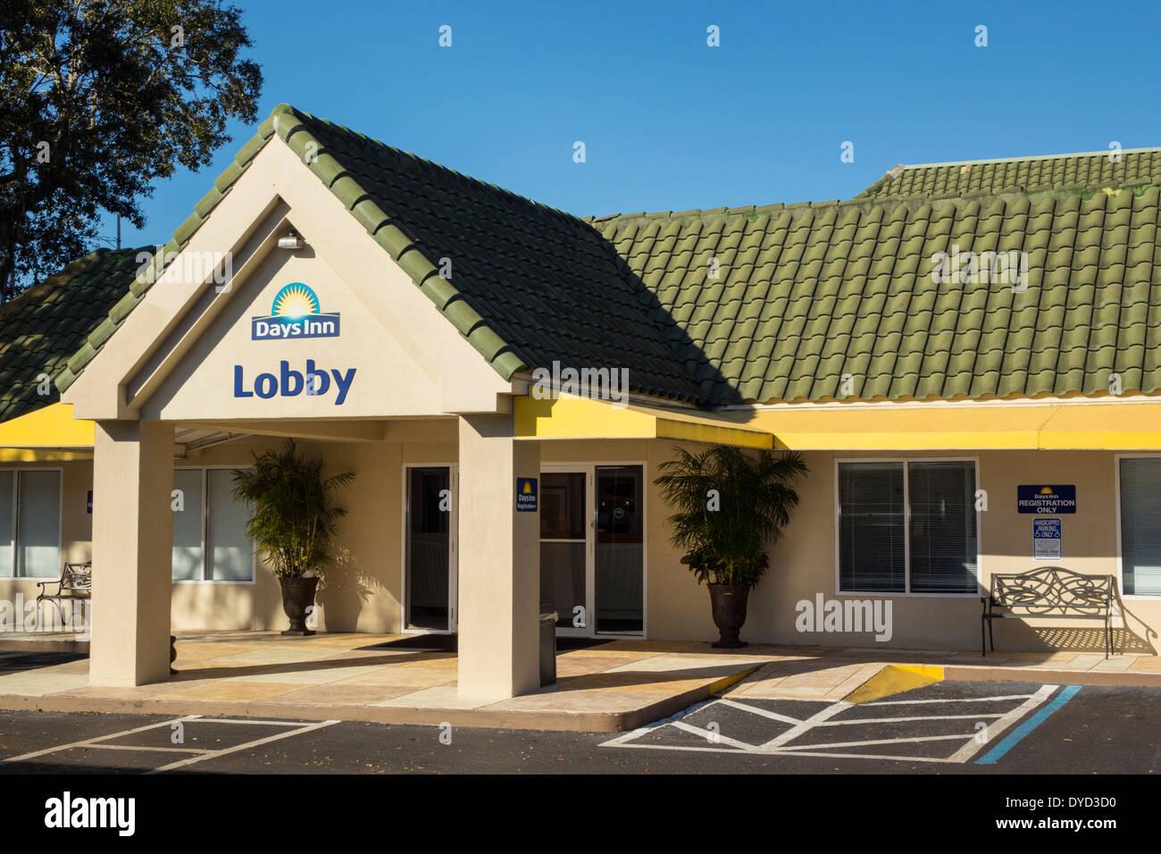 Port Charlotte Florida Days Inn Motel Hotel Unterkunft Vor Dem