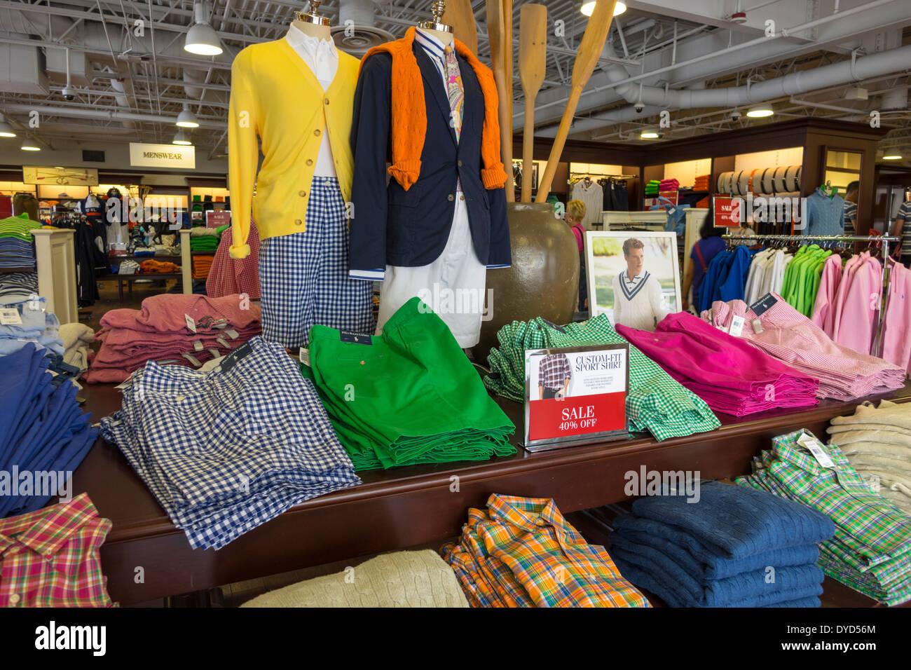 Orlando Florida Orlando Premium Outlets International Drive shopping Polo Ralph  Lauren Outlet in innere Bekleidung Mode 2fca4eecd7