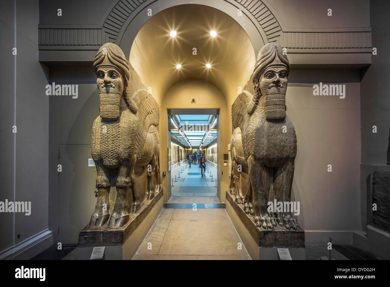 Ägyptologie im British Museum. Stockbild