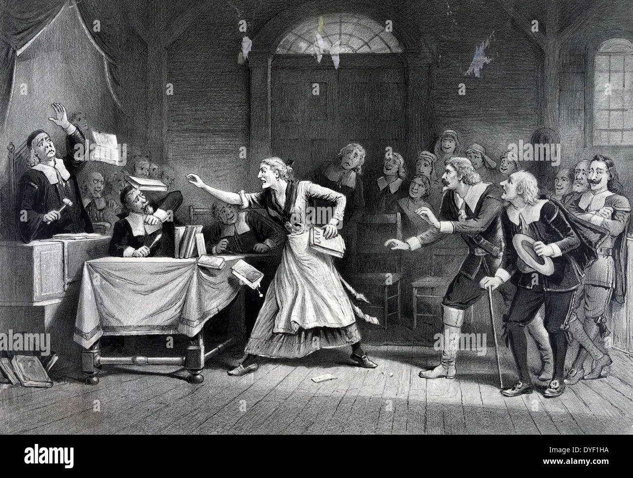 Die Hexe Nr. 3 1892 Stockbild