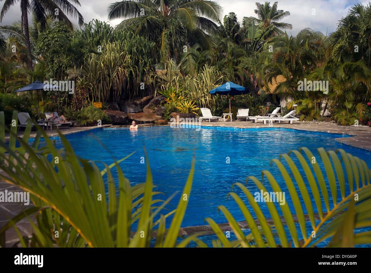 Rarotonga Insel Cook Island Polynesien Sud Pazifik Schwimmbad