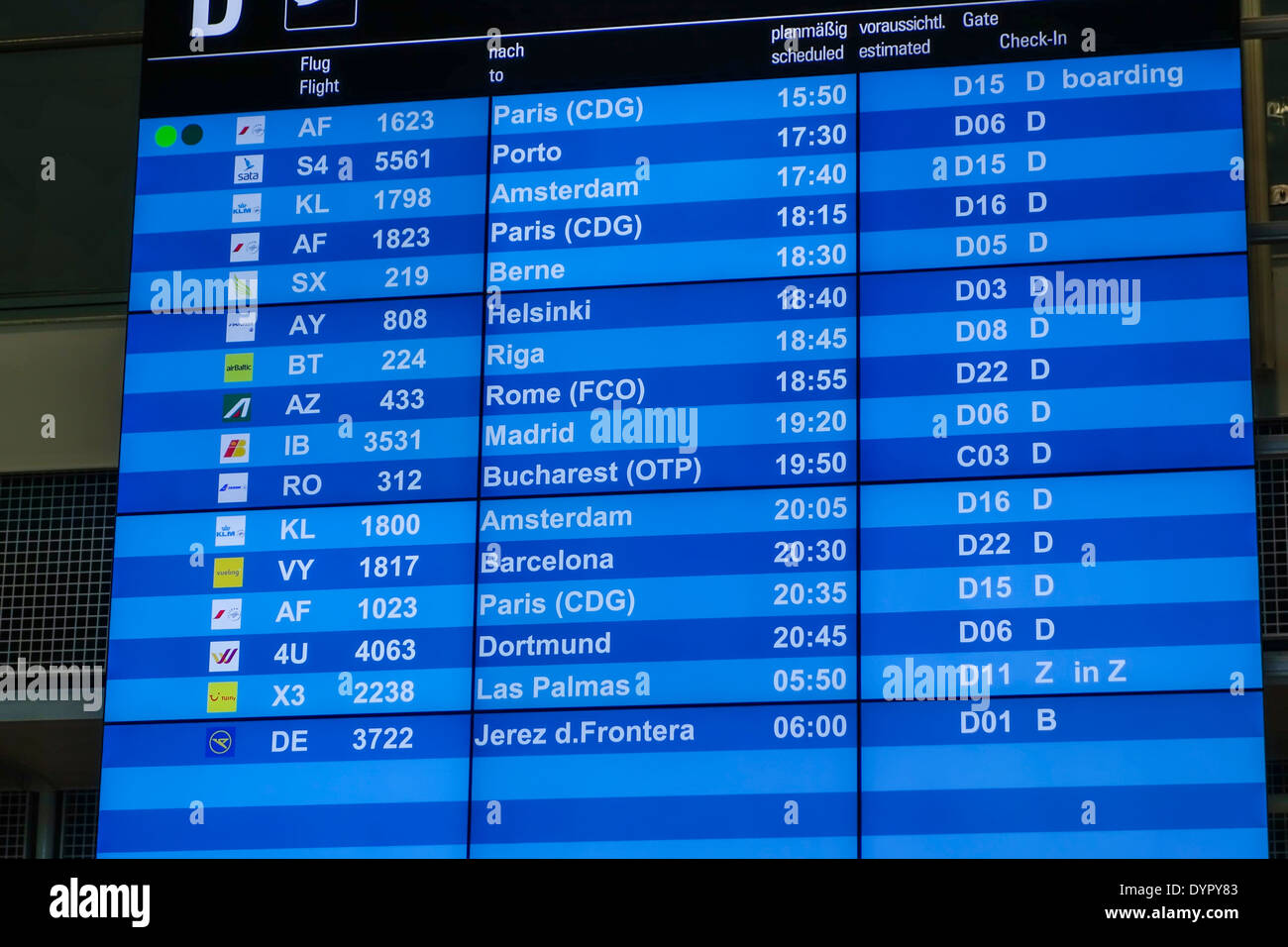 Antalya Frankfurt Ankunft