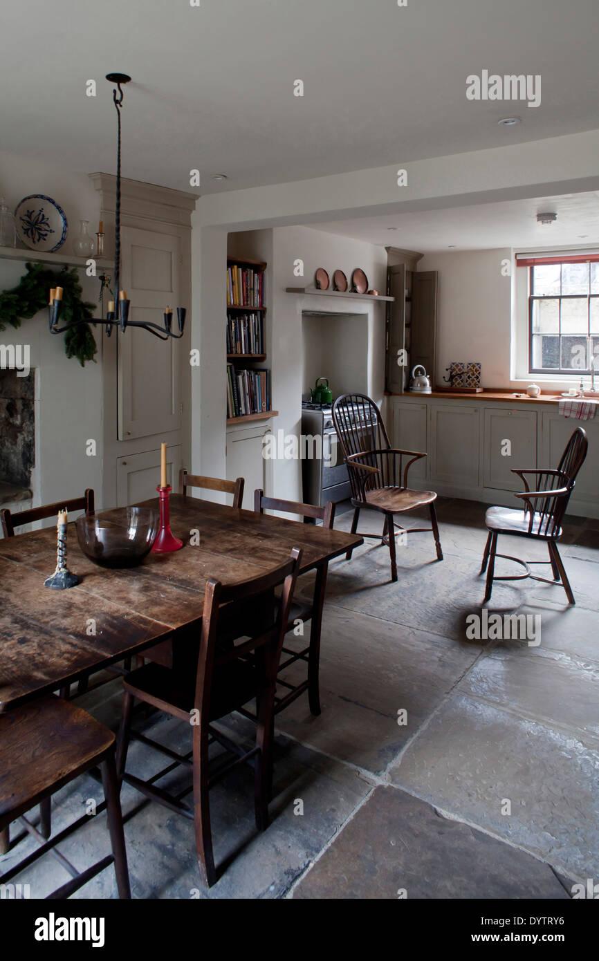 Interiors Traditional Kitchens Dining Rooms Stockfotos & Interiors ...