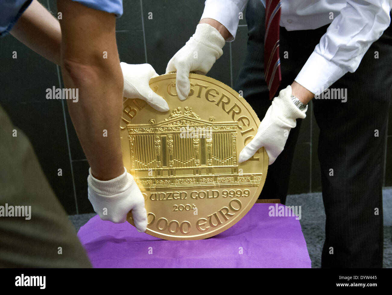 Der Große Phil Münze Stockfoto Bild 68778869 Alamy