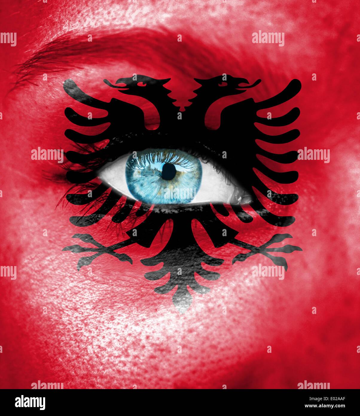 woman portrait albania stockfotos woman portrait albania bilder alamy. Black Bedroom Furniture Sets. Home Design Ideas