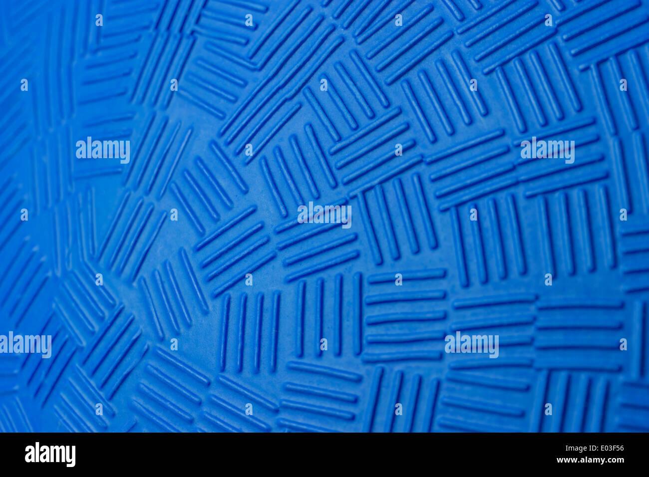 Musterentwurf der blauen Gummiball. Stockbild