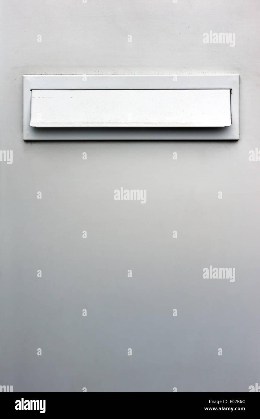 industrielle Postfach Loch für Briefe Stockbild