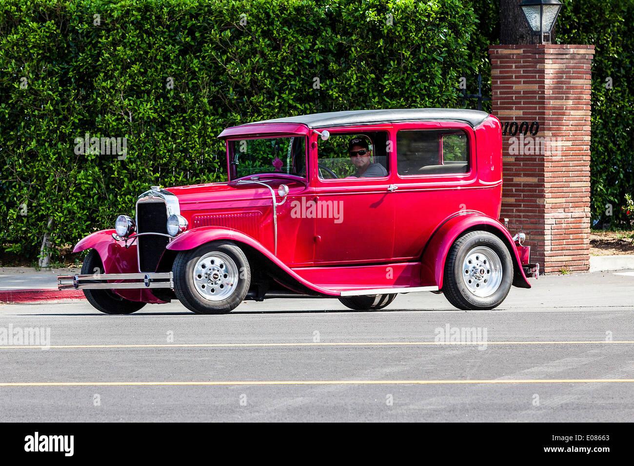 Ein 30er Ford Sedan Hotrod Stockfoto, Bild: 69021963 - Alamy