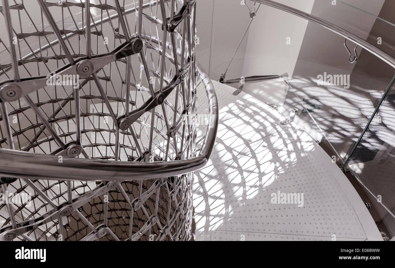Treppenhaus architektur detail  Treppenhaus im Somerset House in London, Vereinigtes Königreich ...