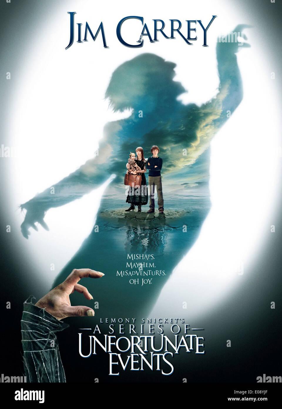 LEMONY SNICKET EINE REIHE BETRÜBLICHER EREIGNISSE (POSTER) (2004) BRAD SILBERLING (DIR) MOVIESTORE SAMMLUNG LTD Stockbild