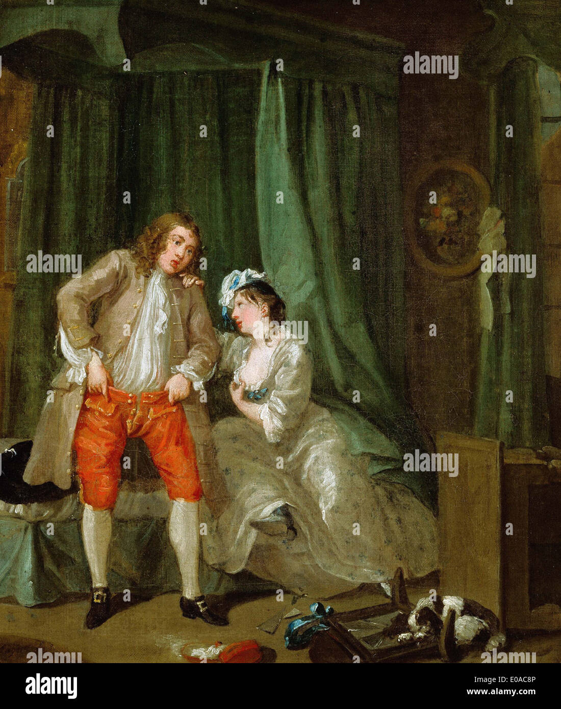 William Hogarth nach Stockbild