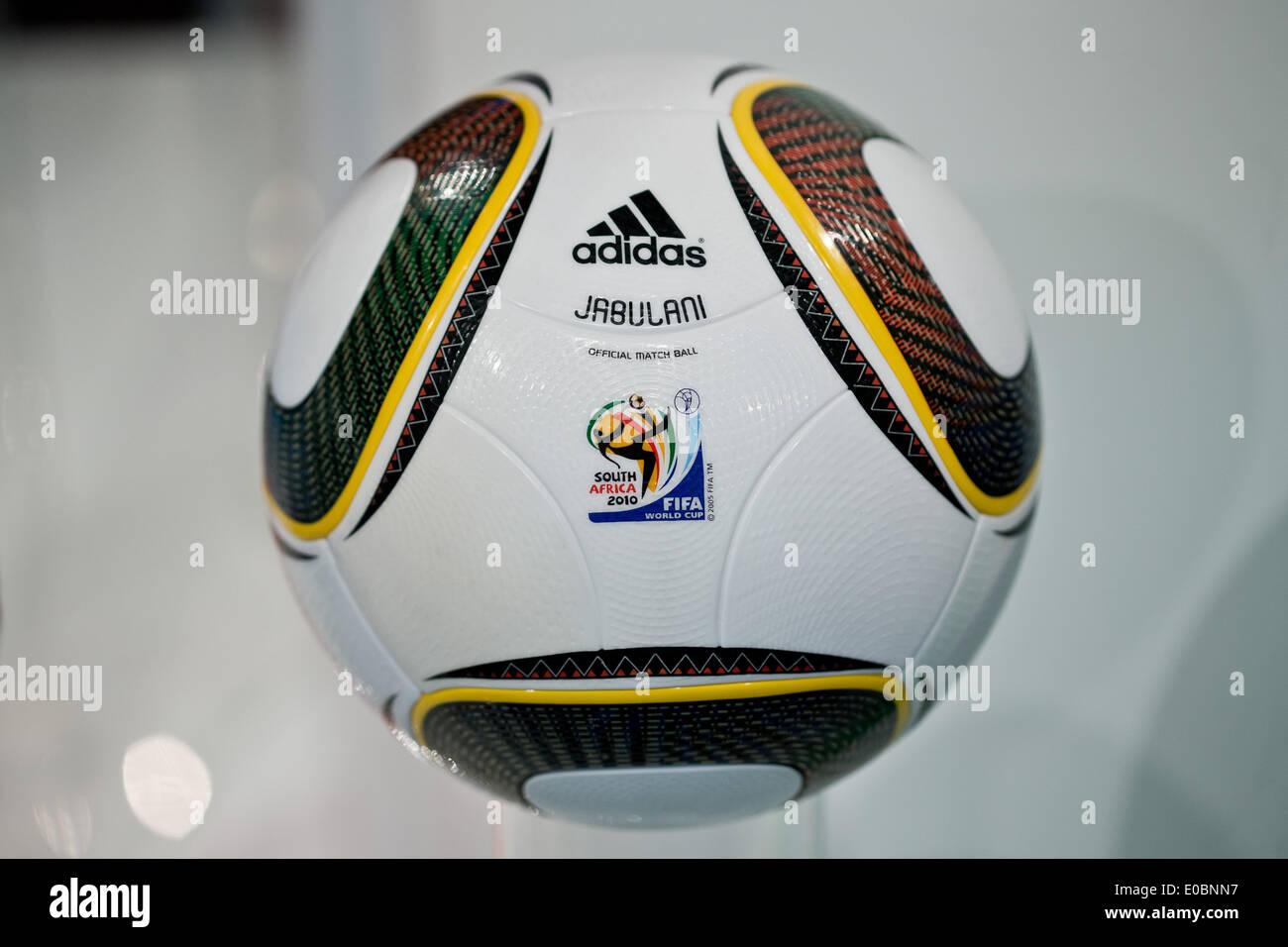 Fürth Deutschland 8 Mai 2014 Der Jabulani Fußball Wurde Der