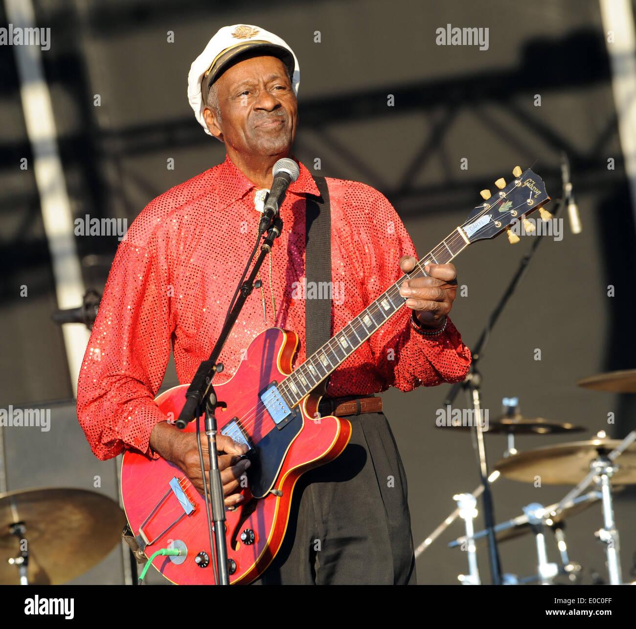 8. Mai 2014 - wurde US-Rock\'n\'Roll-Musik-Legende CHUCK BERRY als ein ...