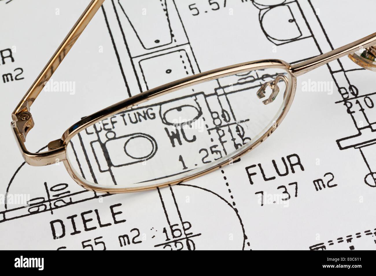 Bauplaene Stockfotos & Bauplaene Bilder - Alamy