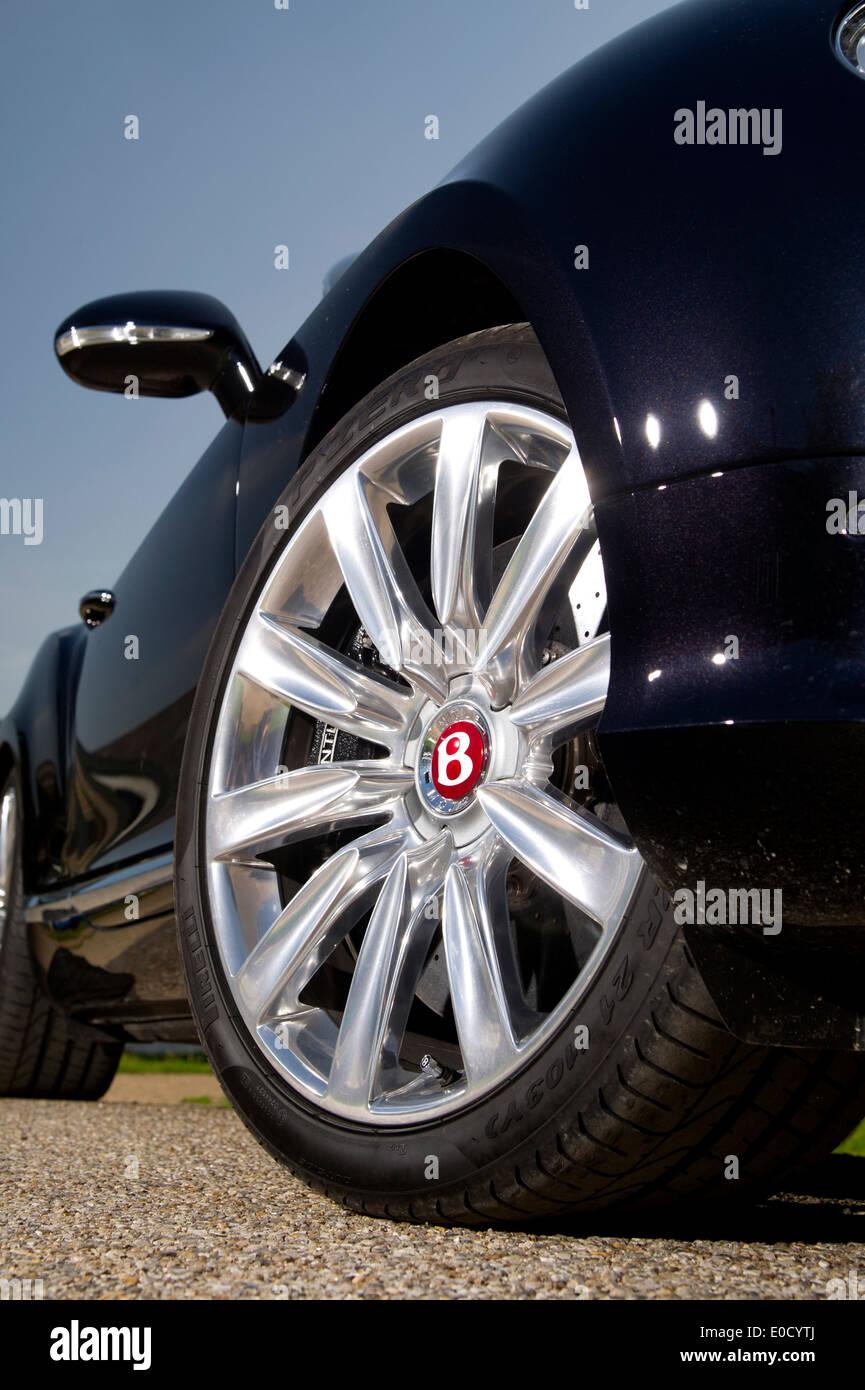 2013 Bentley GTC Luxus britische Cabrio Stockbild