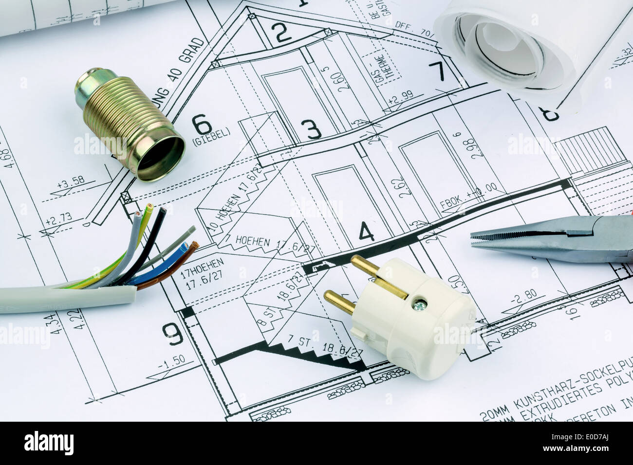 Hausinstallation Stockfotos & Hausinstallation Bilder - Alamy