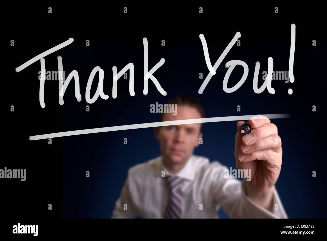 Handwritten Thank You Letter Stockfotos & Handwritten Thank You ...