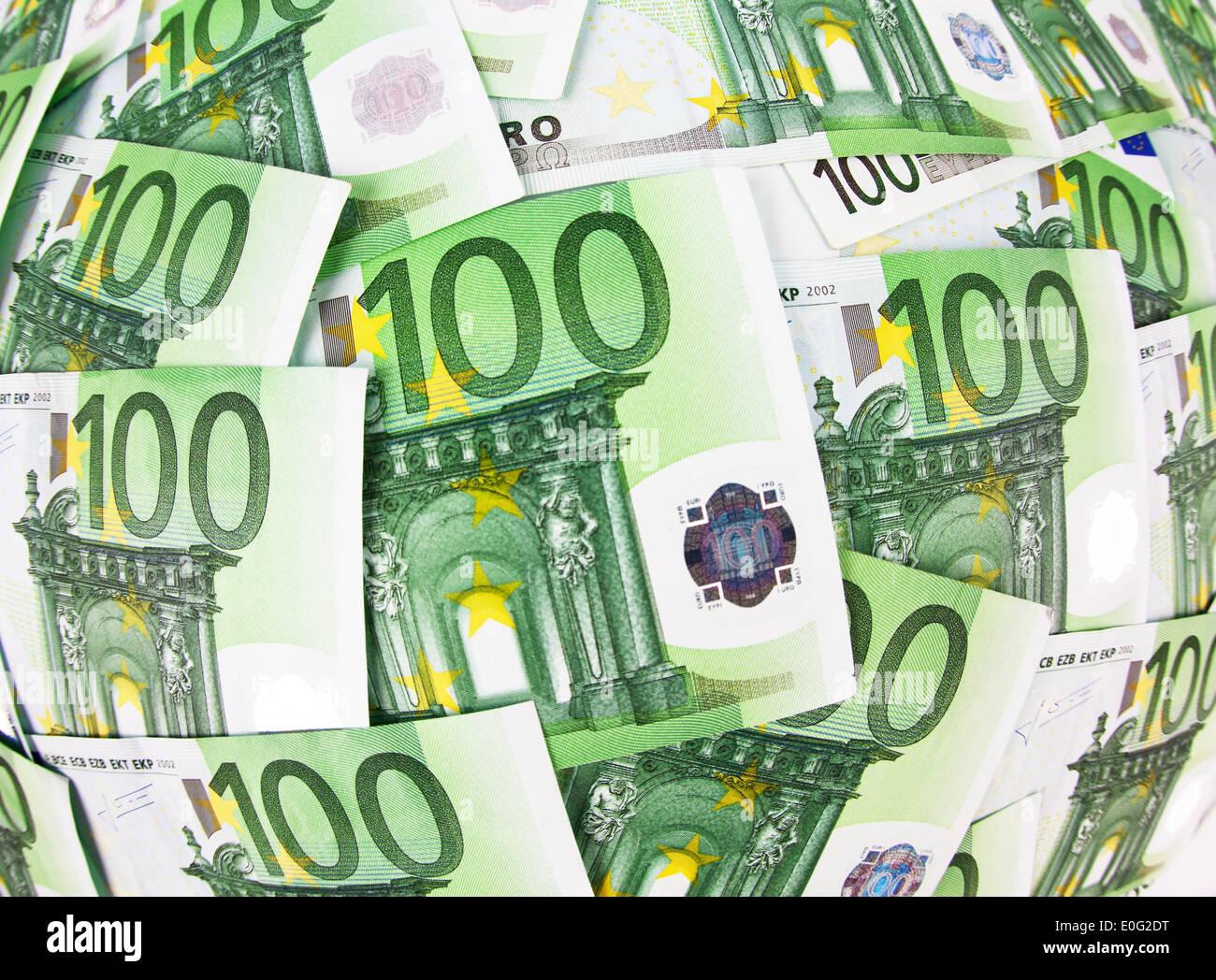 viele hundert euro banknoten liegen nebeneinander viele. Black Bedroom Furniture Sets. Home Design Ideas