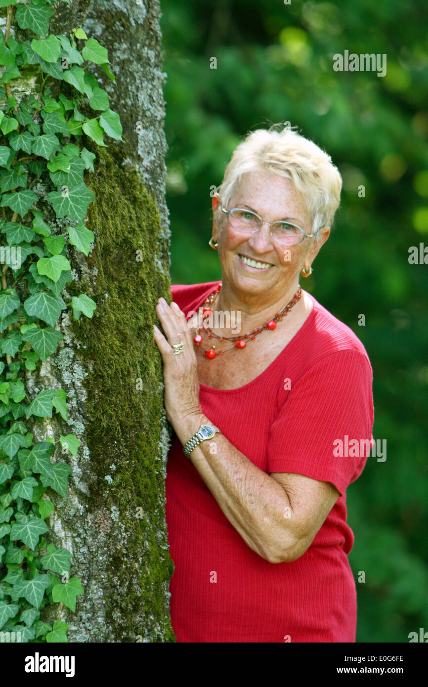 Lachen [senior], 60 +, alte, alte, alte Frau, alte Frauen