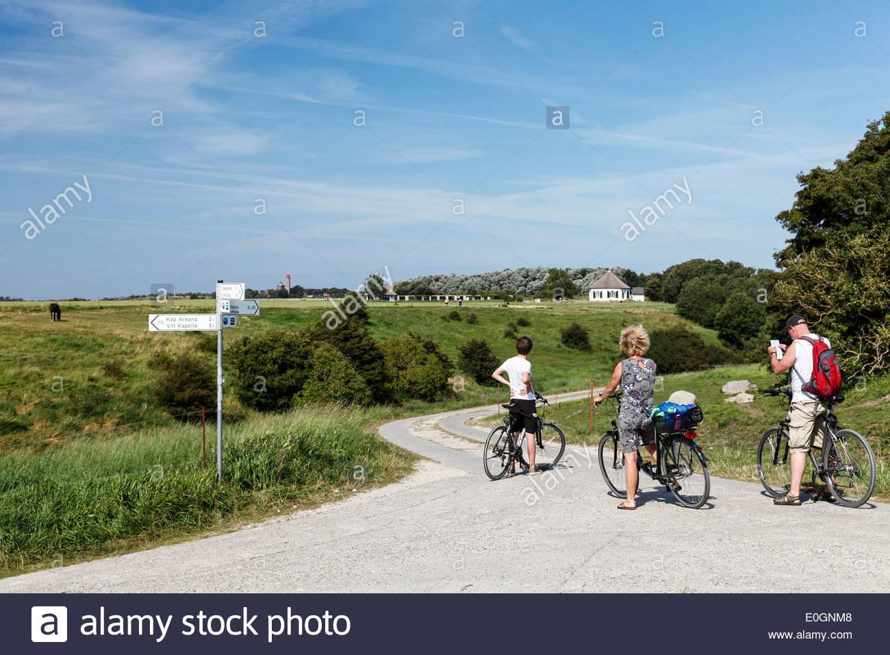 Karte Ostsee Deutschland.Cyclicts Lesung Karte Vitt Kap Arcona Insel Rügen Mecklenburg