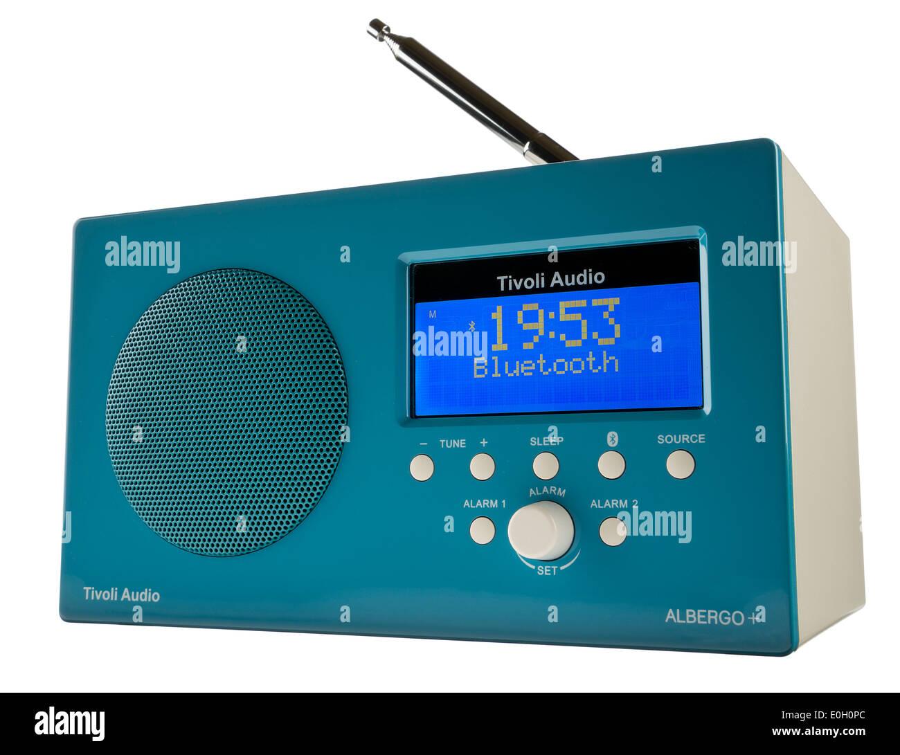 Tivoli Audio Albergo DAB Radiowecker mit Bluetooth. Stockbild