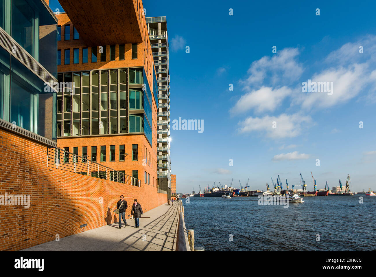 Van Der Smissen Straße Ecke Grosse Elbstrasse Hafencity Hamburg