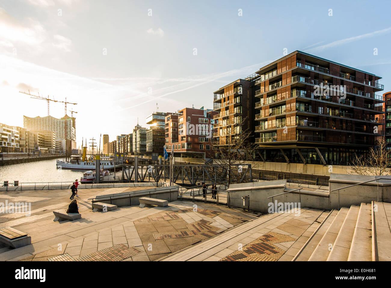 Grasbrook stockfotos grasbrook bilder alamy - Moderne architektur in deutschland ...