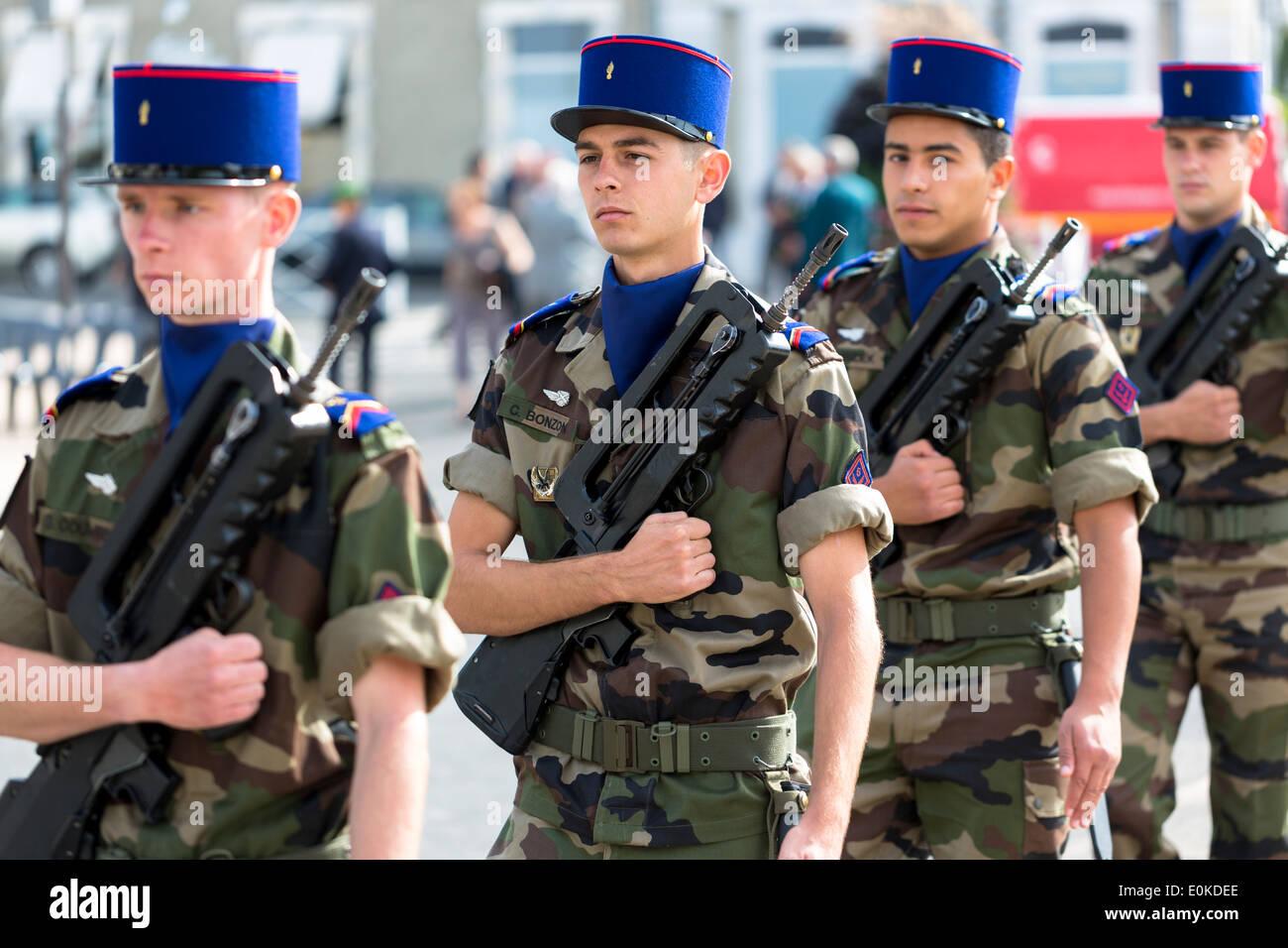 Old French Army Uniform Stockfotos Old French Army Uniform Bilder