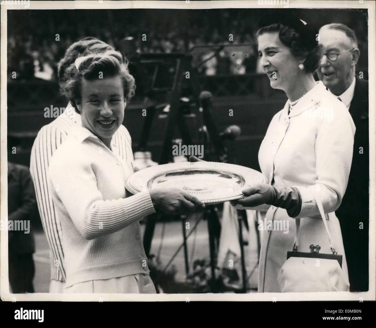 Duchess Kent Wimbledon Stockfotos & Duchess Kent Wimbledon