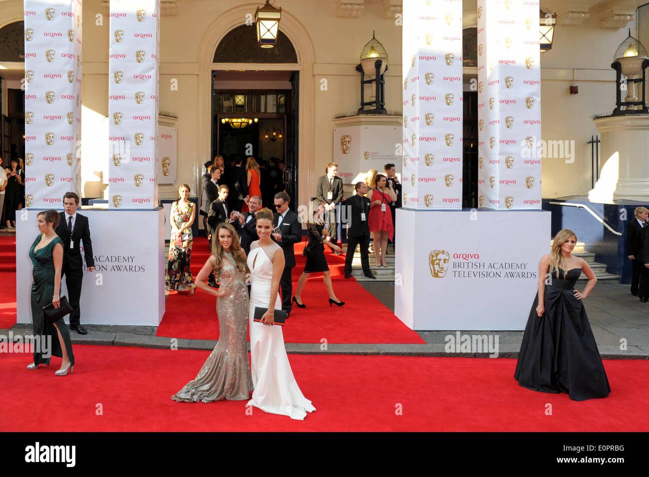 London, UK, 18.05.2014: die Arqiva BAFTA TV Awards Red Carpet Arrivals... Personen im Bild: Michelle Heaton. Bild von Julie Edwards Stockbild