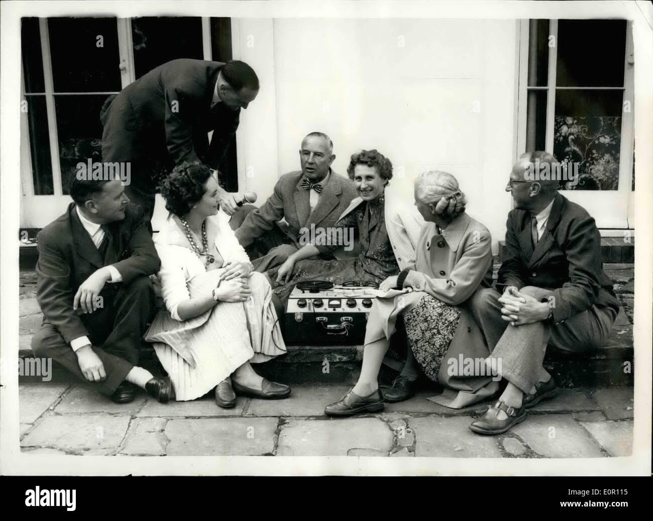 8  August 1957 - BBC Englisch von Radio-Sommerschule  42