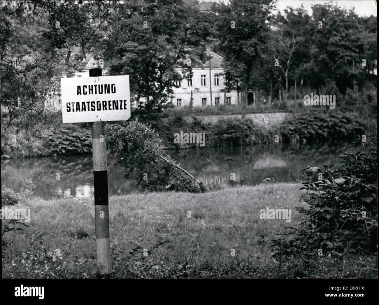 Sept 09 1959 Oder Neisse Grenze Ist Stateborder Vor 20