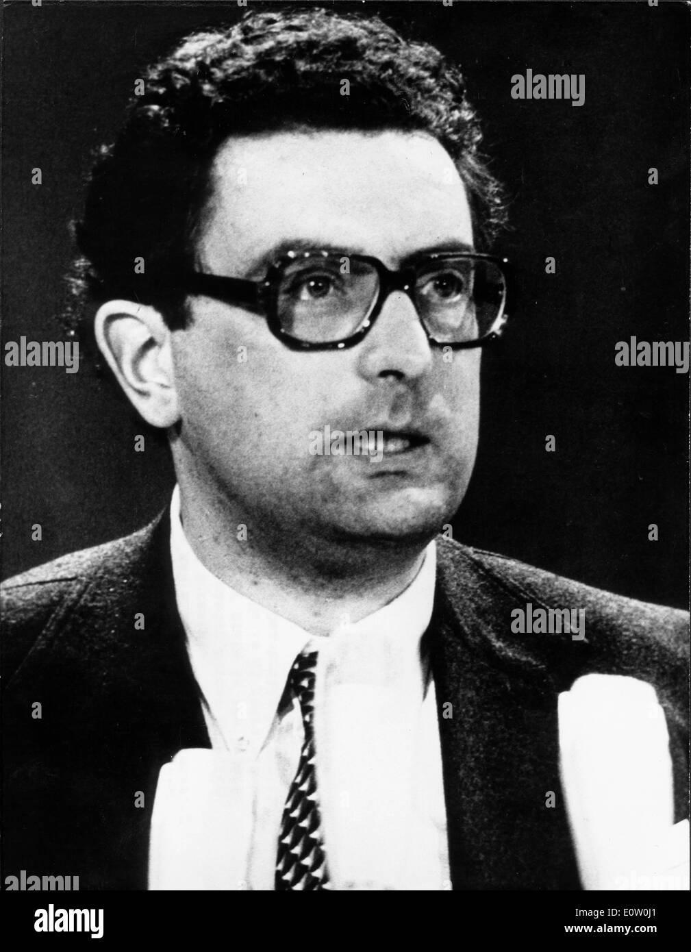 GERHART RUDOLF BAUM Stockbild
