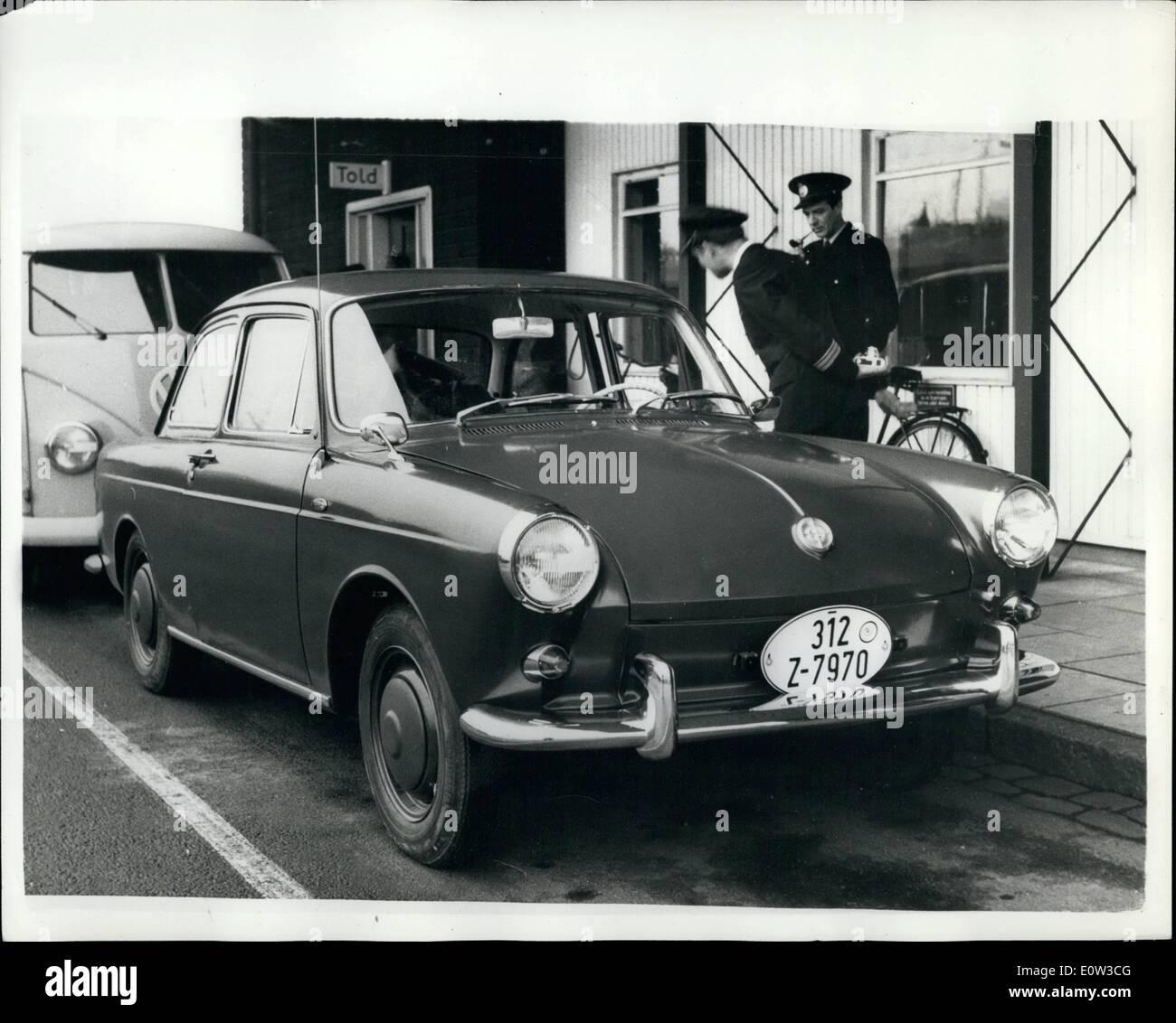3 Marz 1961 Neue Volkswagen Modell Ubergeben Sie Danische