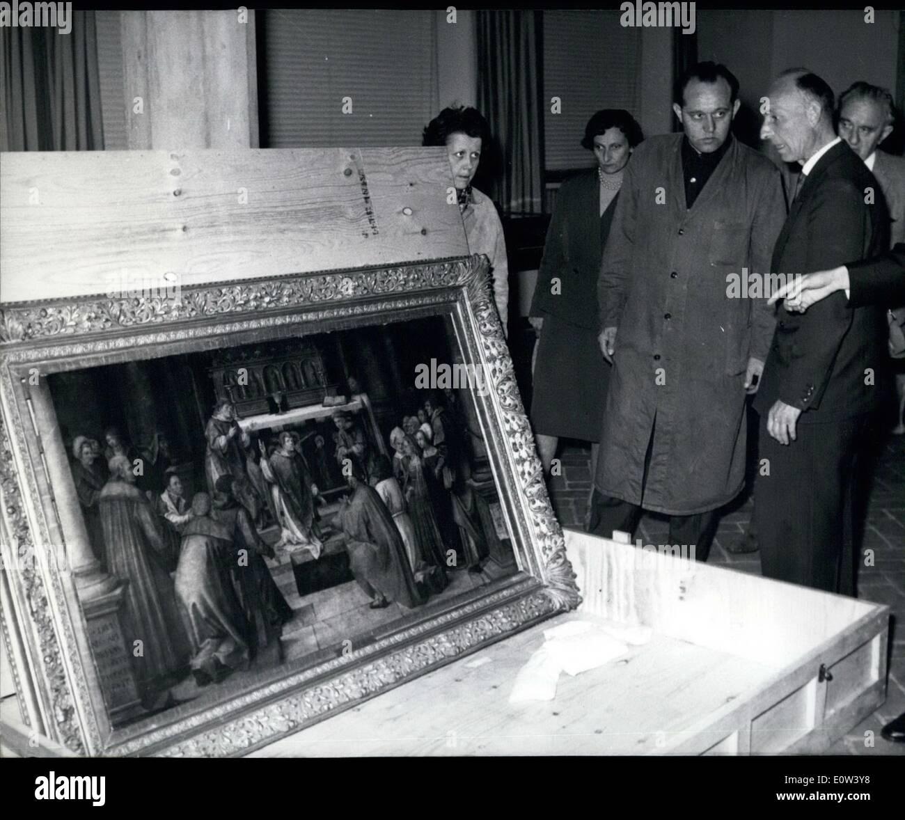 6. Juni 1961 - '' Masters um Albrecht Dürer '': die Ausstellung '' Masters um Albrecht Stockbild