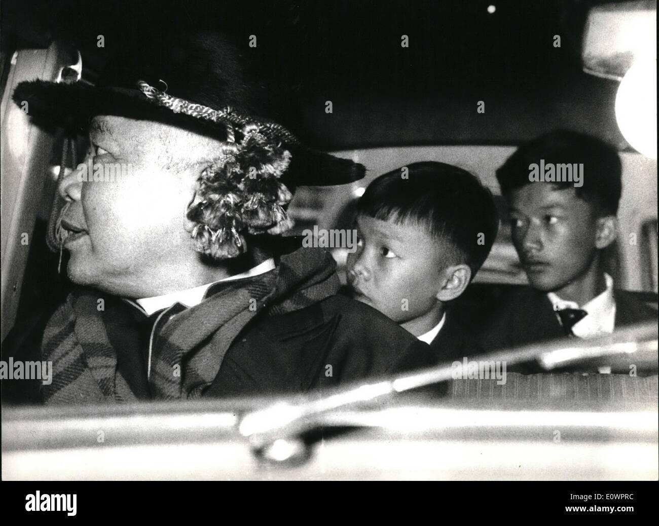 11. November 1963 - drei Sohn sof u, Dinh Tac 15 Jahre alten Dn ...