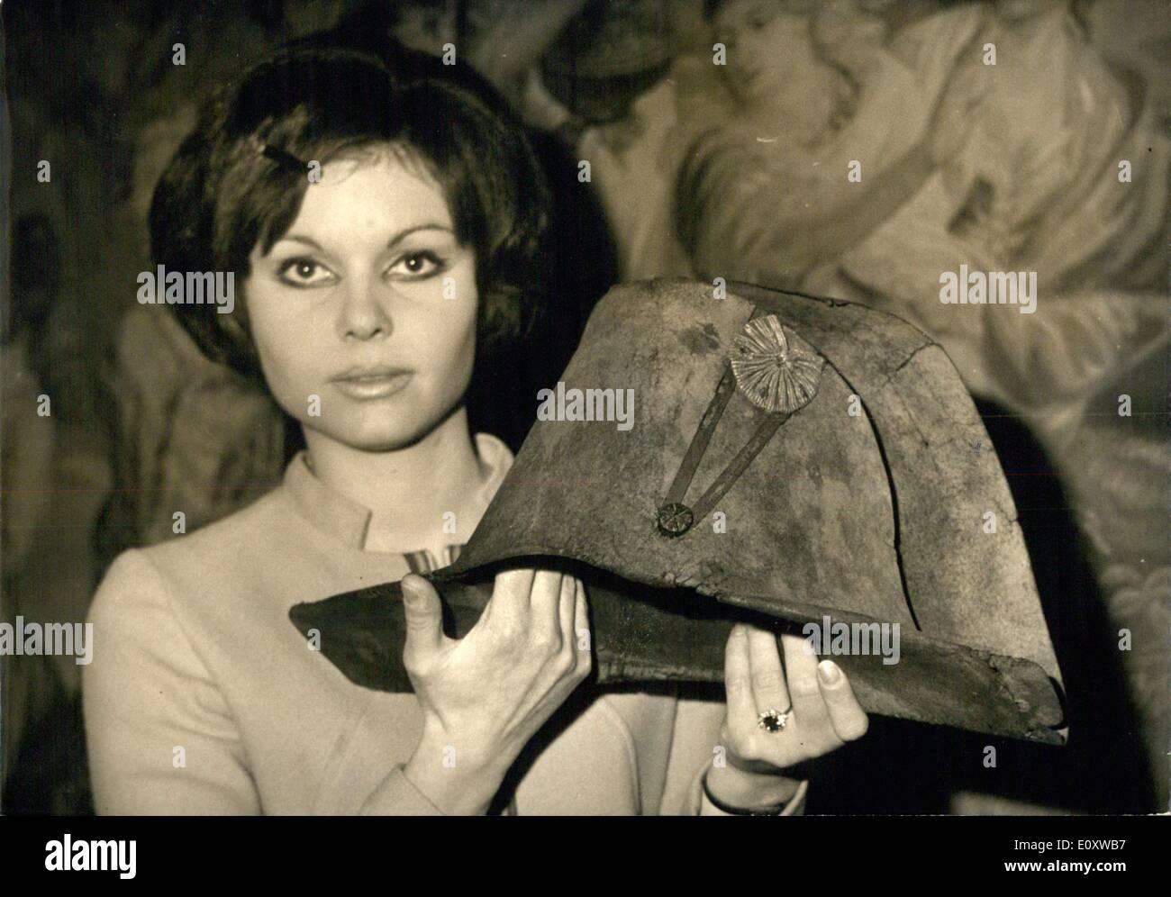 4 Dezember 1967 Der Hut Von Napoleon Bonaparte Statt Von Einer