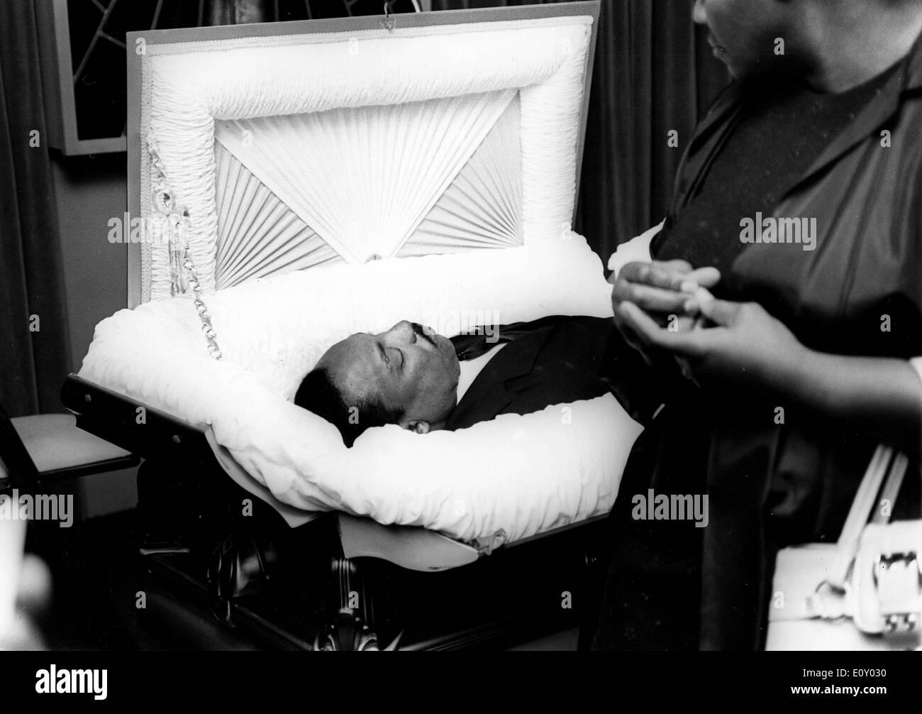 Beerdigung von reverend Martin Luther King Jr.. Stockfoto