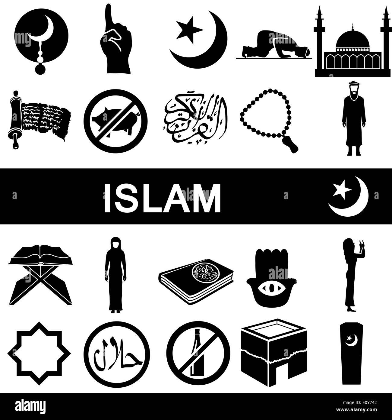 Islamische Symbole