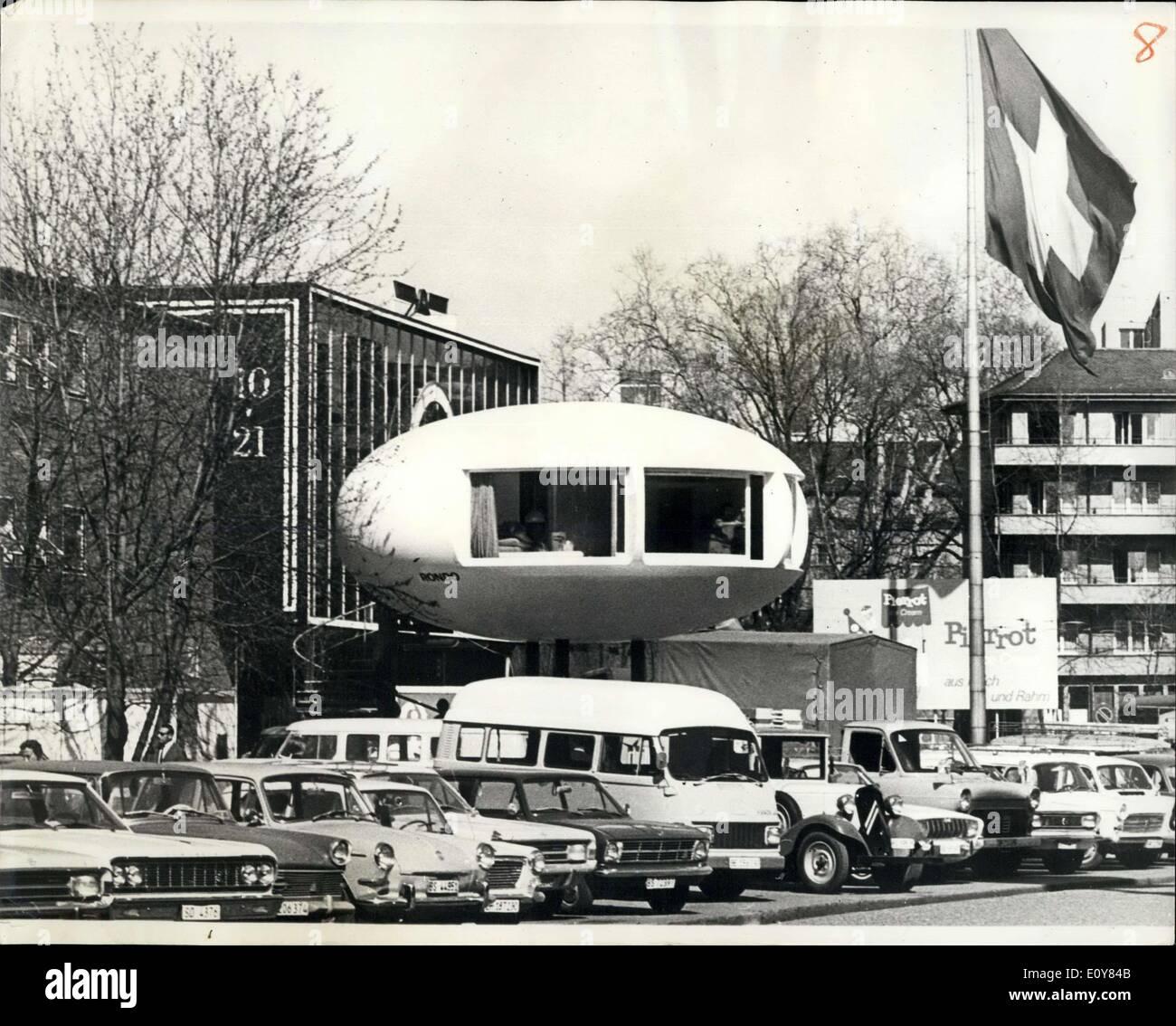 15 April 1969 Schweizer Industrie Messe Eine Der