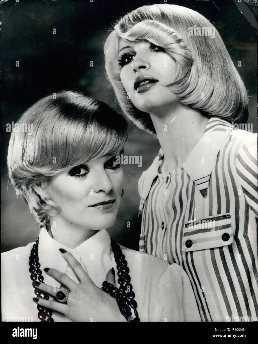 2 Februar 1972 Neue Haar Styles Aus Paris Der Neue Kurze Lockige