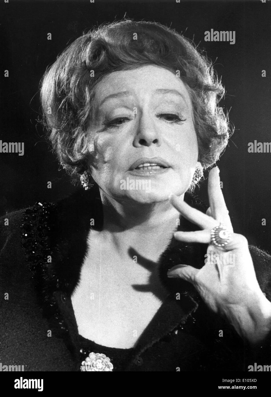 5217815 (9002126) Zarah LEANDER (Eig. Hedberg, 15.03.1907 - 23.06.1981), Schwedische Schauspielerin Und S?ngerin, Porträt aus Stockbild