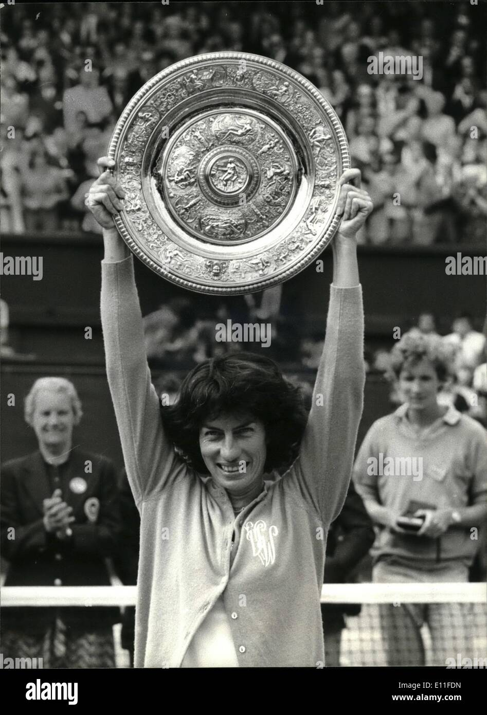 Virginia Wade Stockfotos & Virginia Wade Bilder Alamy