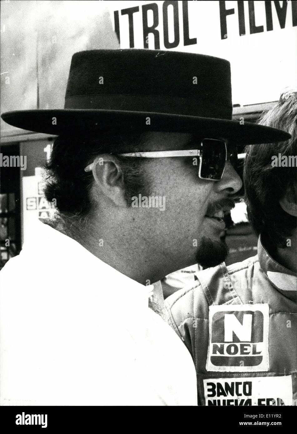 4. April 1981 - Lotus Sponsor in Zürich verhaftet: David Thieme 41, amerikanischen Sponsor des britischen Lotus Stockbild