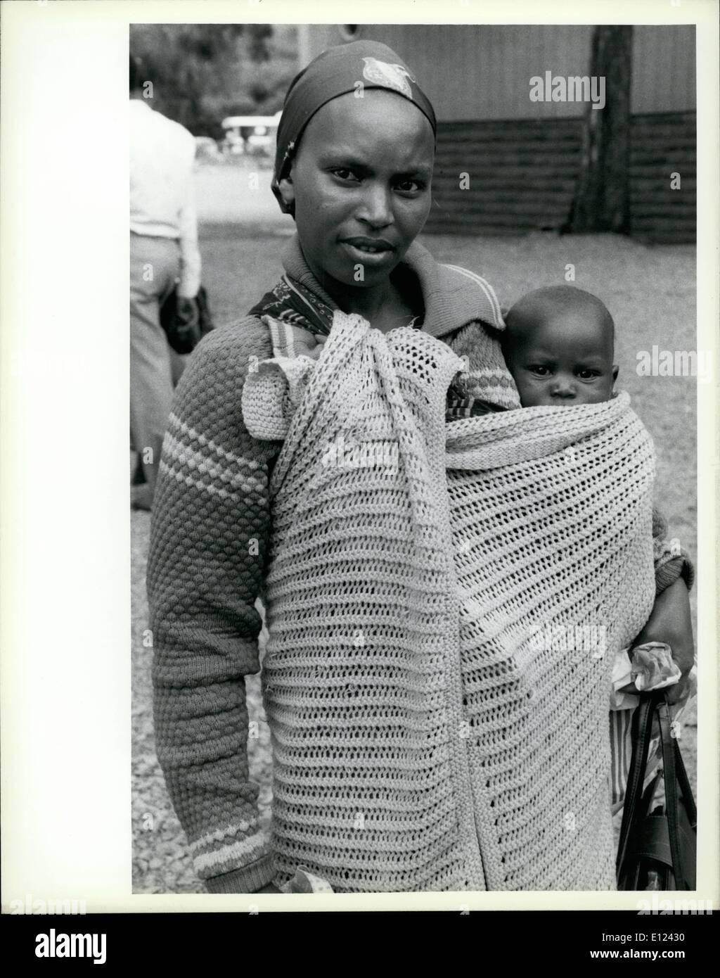 7. Juli 1985 - trifft Konferenz über die Dekade der Vereinten Nationen Frauen sich in Nairobi; Die Welt Konferenz Stockfoto