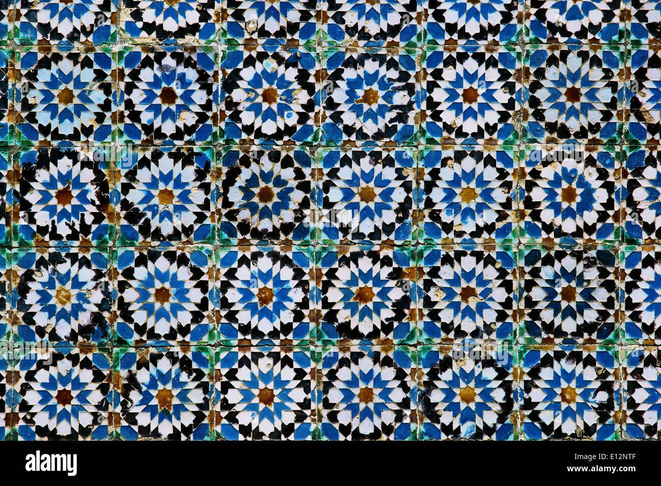 azulejos keramikziegel traditionellen typisch portugiesischen design palacio nacional da pena. Black Bedroom Furniture Sets. Home Design Ideas