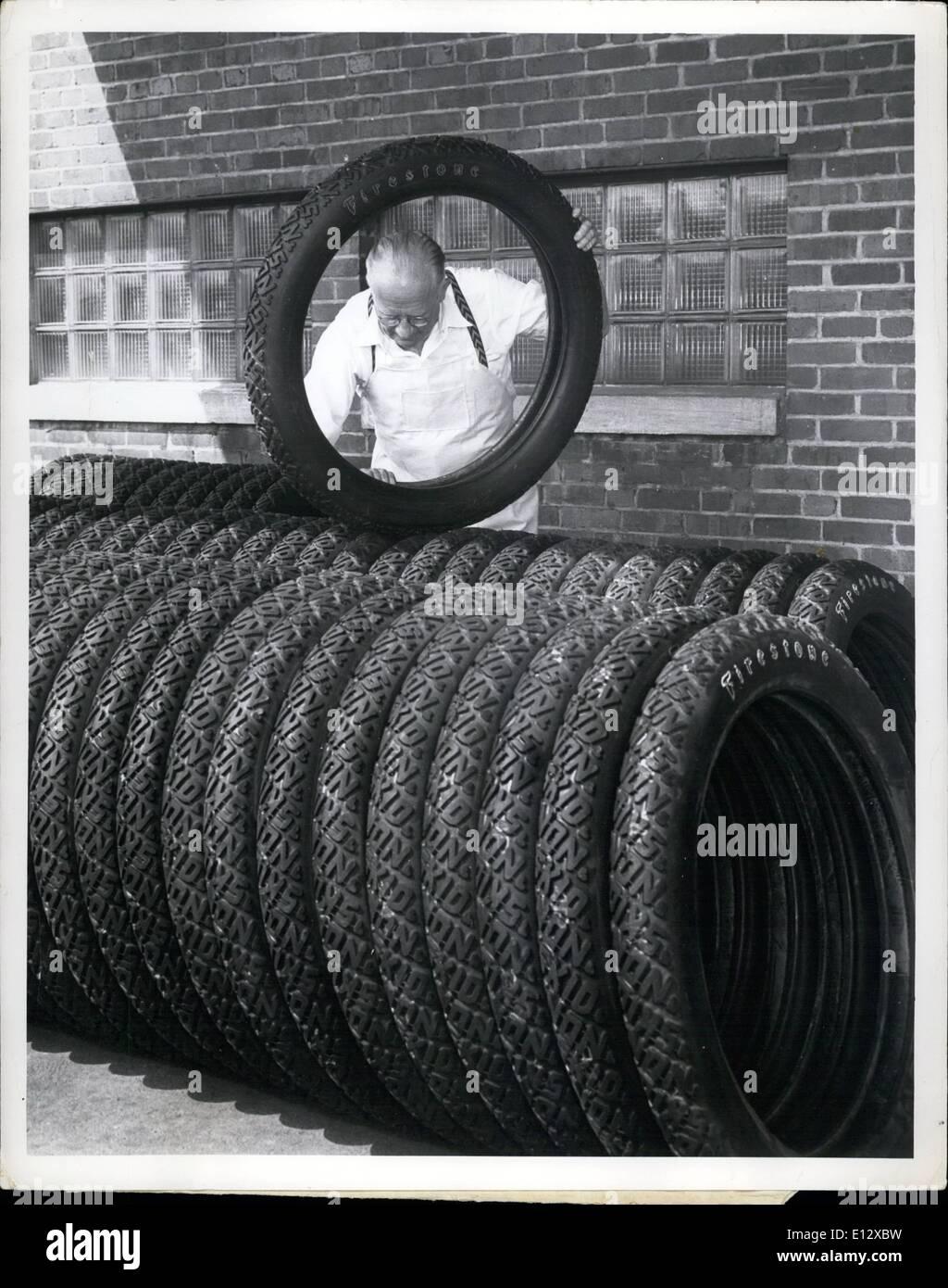 26. Februar 2012 - ist auf dem Weg von Akron, Ohio, nach Washington, um die Bedürfnisse der die 200 antiken Kfz Stockfoto