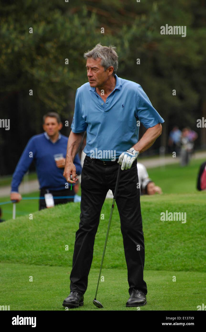 Wentworth, Surrey, UK. 21. Mai 2014.   TIFF Needell während der BMW PGA Championship Wentworth pro-am, Surrey, UK-Credit: Bigred/Alamy Live-Nachrichten Stockbild