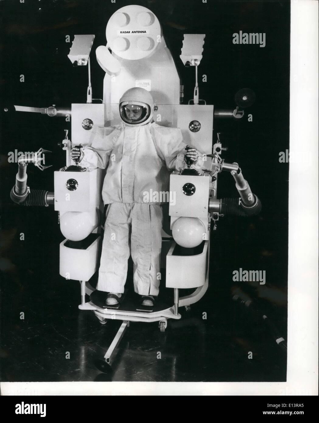 22. März 2012 - spätestens im Raum Rennen Roboter: Space Explorers funktioniert möglicherweise bald von Fahrzeugen Stockfoto